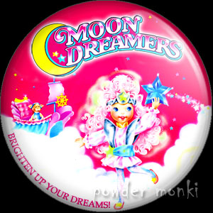 Moon Dreamers - Retro Toy Badge/Magnet