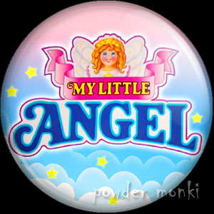 My Little Angel - Retro Toy Badge/Magnet