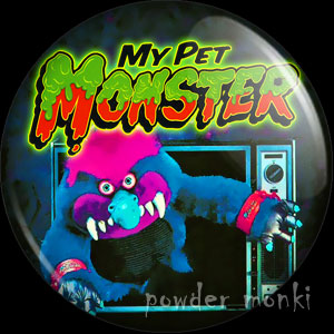 My Pet Monster - Retro Toy Badge/Magnet