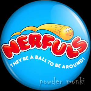 Nerfuls - Retro Toy Badge/Magnet