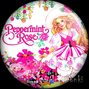 Peppermint Rose - Retro Toy Badge/Magnet