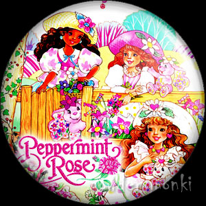 Peppermint Rose - Retro Toy Badge/Magnet 2