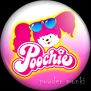 Poochie - Retro Toy Badge/Magnet