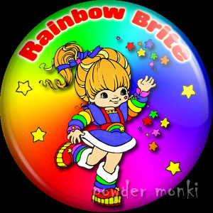 Rainbow Brite - Retro Toy Badge/Magnet
