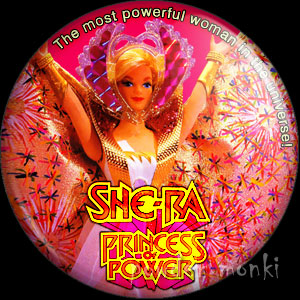 She-Ra: Princess of Power - Retro Toy Badge/Magnet