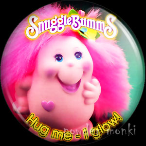 "SnuggleBumms ""Mama Brightly"" - Retro Toy Badge/Magnet"