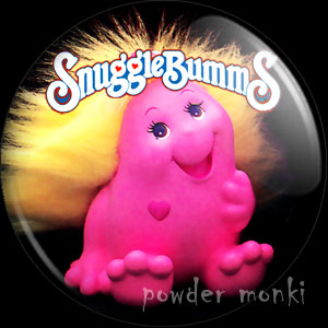 SnuggleBumms - Retro Toy Badge/Magnet