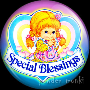 Special Blessings - Retro Toy Badge/Magnet