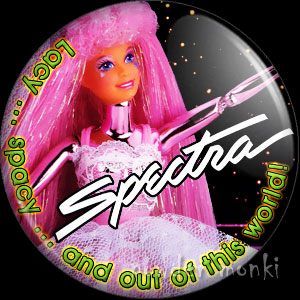 Spectra - Retro Toy Badge/Magnet