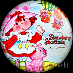 Strawberry Shortcake - Retro Toy Badge/Magnet