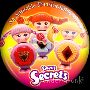 Sweet Secrets - Retro Toy Badge/Magnet