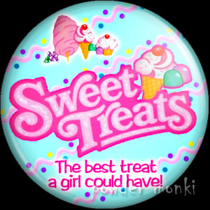 Sweet Treats - Retro Toy Badge/Magnet
