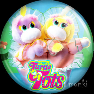 Turtle Tots - Retro Toy Badge/Magnet