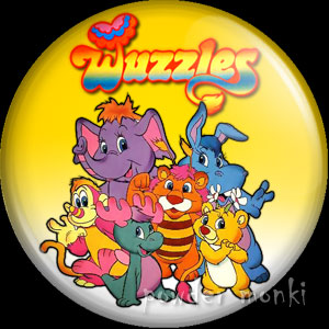 Wuzzles - Retro Toy Badge/Magnet