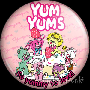 Yum Yums - Retro Toy Badge/Magnet