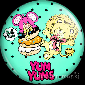 Yum Yums - Retro Toy Badge/Magnet 2