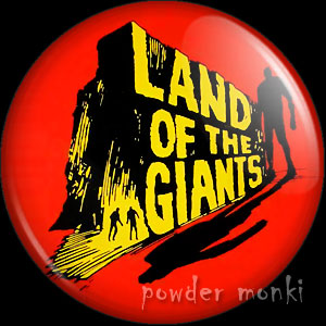 Land Of The Giants - Retro Cult TV Badge/Magnet