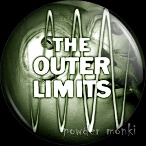 Outer Limits - Retro Cult TV Badge/Magnet
