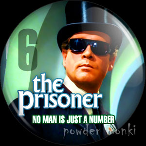 Prisoner - Retro Cult TV Badge/Magnet