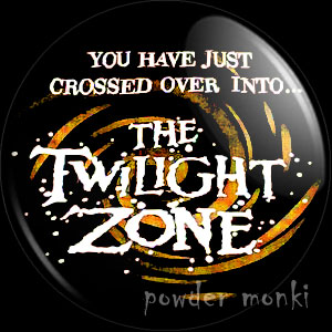 Twilight Zone - Retro Cult TV Badge/Magnet