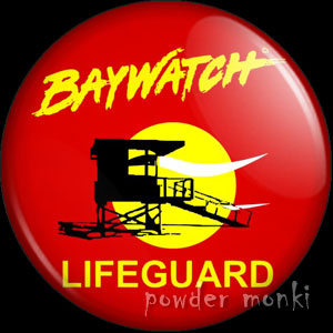Baywatch - Retro Cult TV Badge/Magnet
