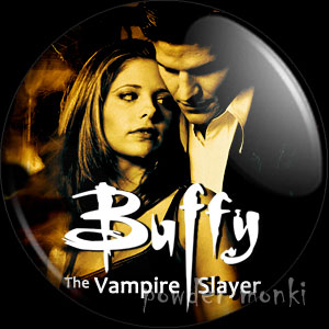 Buffy The Vampire Slayer - Retro Cult TV Badge/Magnet