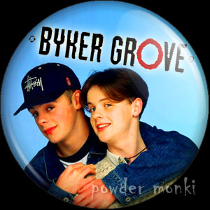 Byker Grove - Retro Cult TV Badge/Magnet