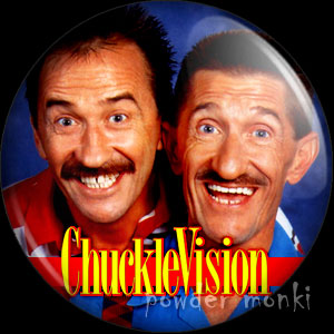Chuckle Vision - Retro Cult TV Badge/Magnet