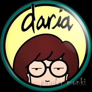 Daria - Retro Cult TV Badge/Magnet