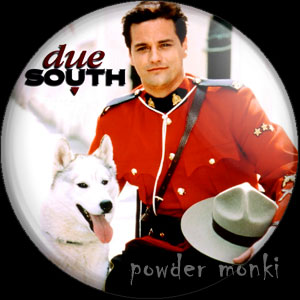Due South - Retro Cult TV Badge/Magnet