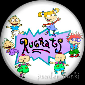 Rugrats - Retro Cult TV Badge/Magnet