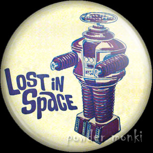 Lost In Space - Retro Cult TV Badge/Magnet