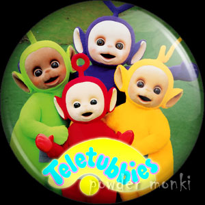 Teletubbies - Retro Cult TV Badge/Magnet