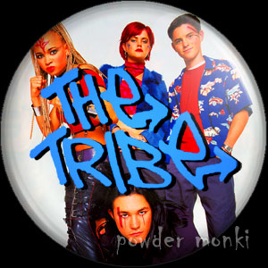 The Tribe - Retro Cult TV Badge/Magnet
