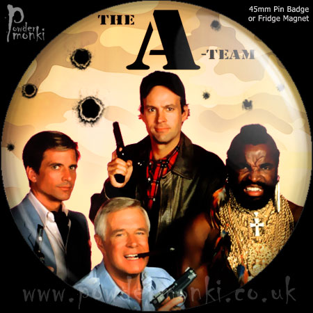 A-Team - Retro Cult TV Badge/Magnet