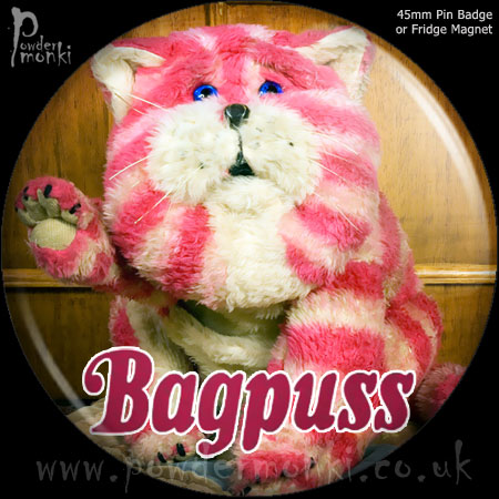 Bagpuss - Retro Cult TV Badge/Magnet