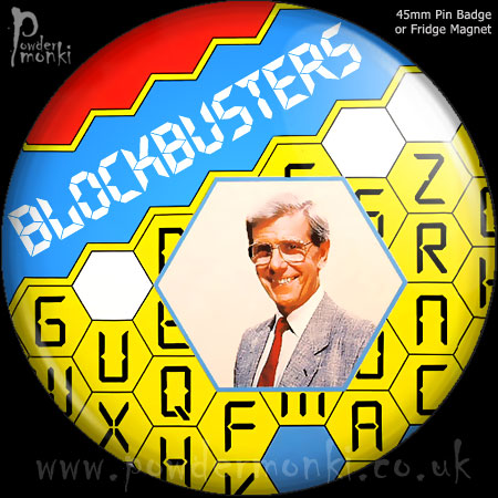 Blockbusters - Retro Cult TV Badge/Magnet