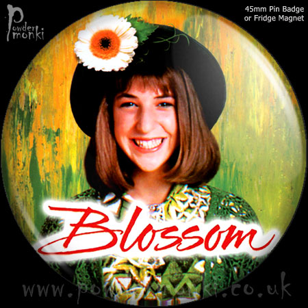 Blossom - Retro Cult TV Badge/Magnet