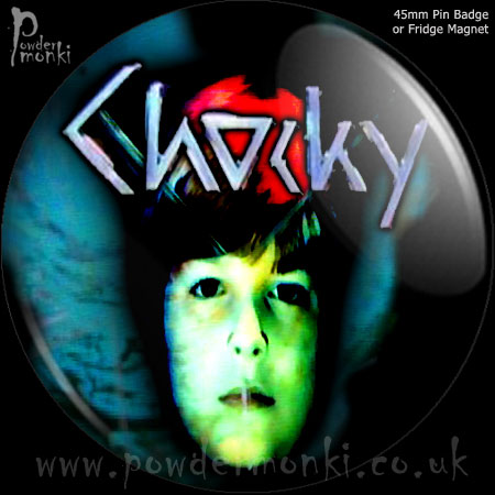 Chocky - Retro Cult TV Badge/Magnet