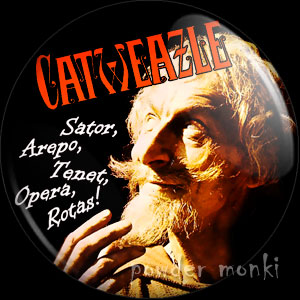Catweazle - Retro Cult TV Badge/Magnet