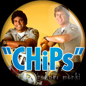 CHiPs - Retro Cult TV Badge/Magnet