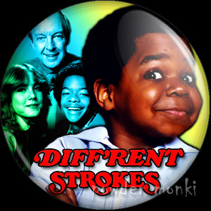 Diff'rent Strokes - Retro Cult TV Badge/Magnet