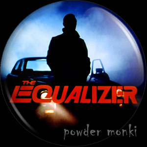 Equalizer - Retro Cult TV Badge/Magnet