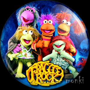 Fraggle Rock - Retro Cult TV Badge/Magnet