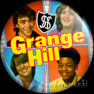 Grange Hill (1982) - Retro Cult TV Badge/Magnet