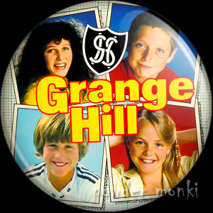 Grange Hill (1984) - Retro Cult TV Badge/Magnet