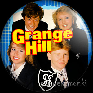 Grange Hill (1985) - Retro Cult TV Badge/Magnet