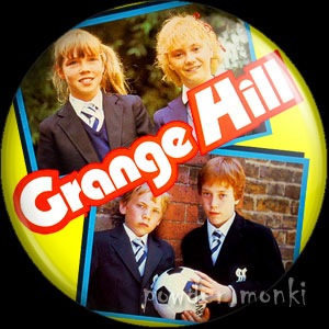 Grange Hill (1986) - Retro Cult TV Badge/Magnet