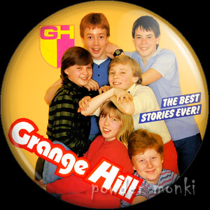Grange Hill (1987) - Retro Cult TV Badge/Magnet
