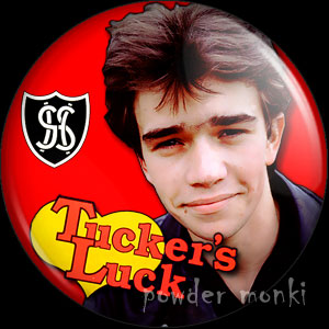 "Grange Hill ""Tucker's Luck"" - Retro Cult TV Badge/Magnet"